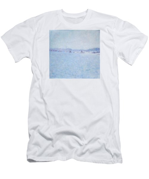 Water At Cannes France Men's T-Shirt (Athletic Fit)