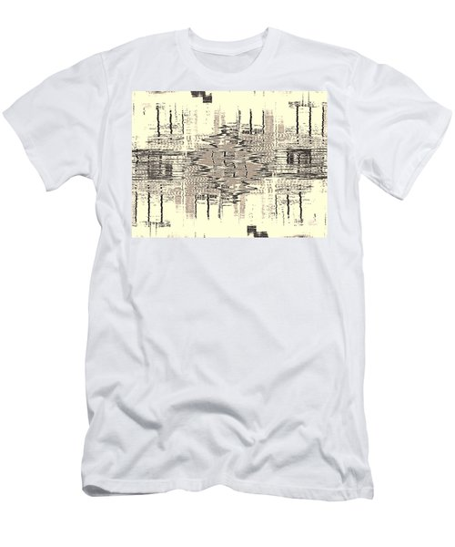 Men's T-Shirt (Athletic Fit) featuring the photograph Water  Graph by Luc Van de Steeg