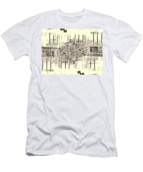 Water  Graph Men's T-Shirt (Athletic Fit)