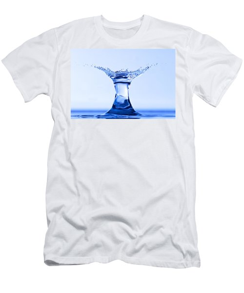 Water Splash Men's T-Shirt (Athletic Fit)