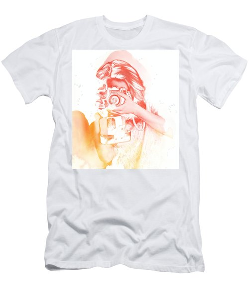 Watercolor Shoot Men's T-Shirt (Athletic Fit)
