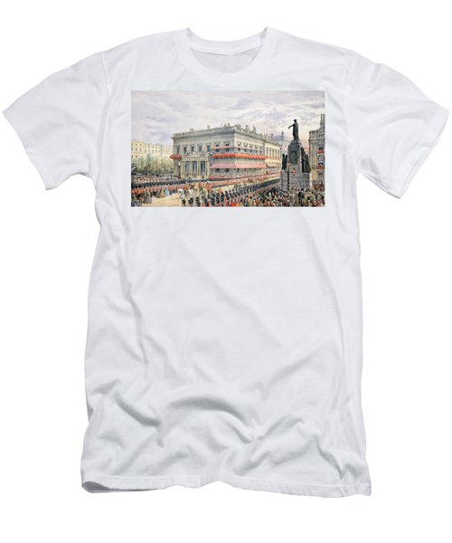 Waterloo Place And Pall Mall Men's T-Shirt (Athletic Fit)