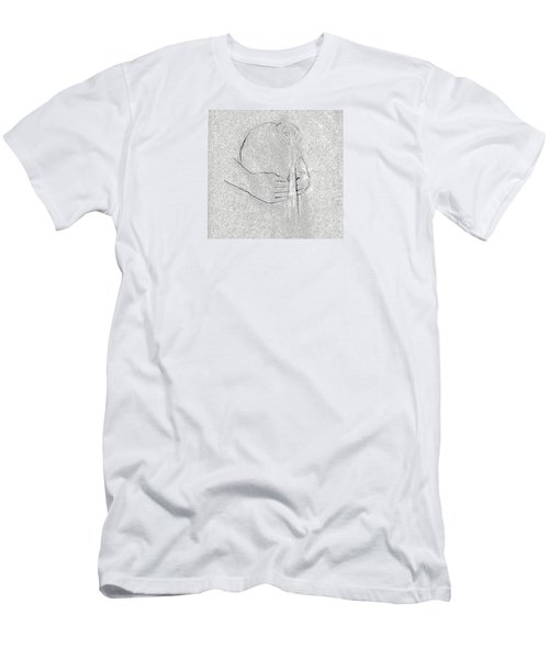 Men's T-Shirt (Slim Fit) featuring the photograph Waters Of Life by I'ina Van Lawick