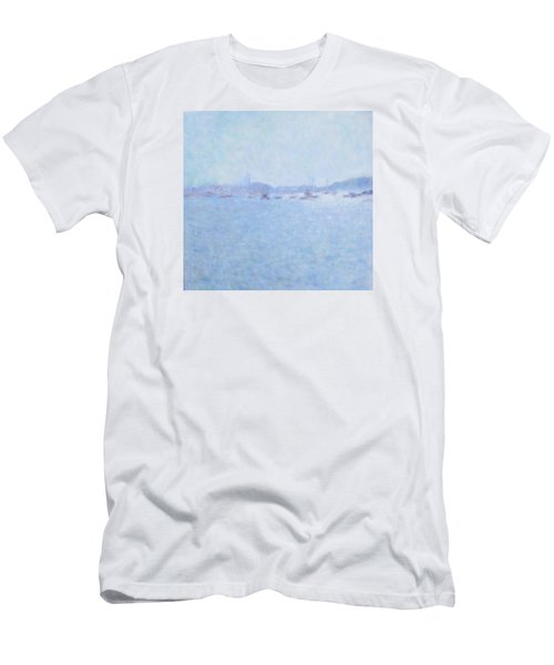 Waterway Of Beautiful France Men's T-Shirt (Athletic Fit)