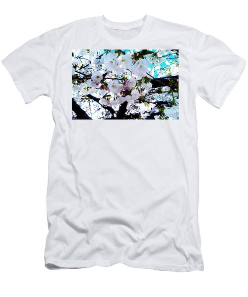 Men's T-Shirt (Slim Fit) featuring the photograph Blanche by Vanessa Palomino