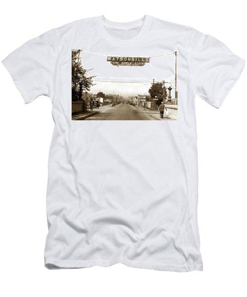 Watsonville California  The Apple City Circa 1926 Men's T-Shirt (Athletic Fit)