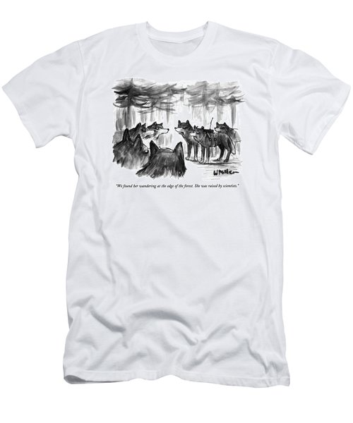 We Found Her Wandering At The Edge Of The Forest Men's T-Shirt (Athletic Fit)