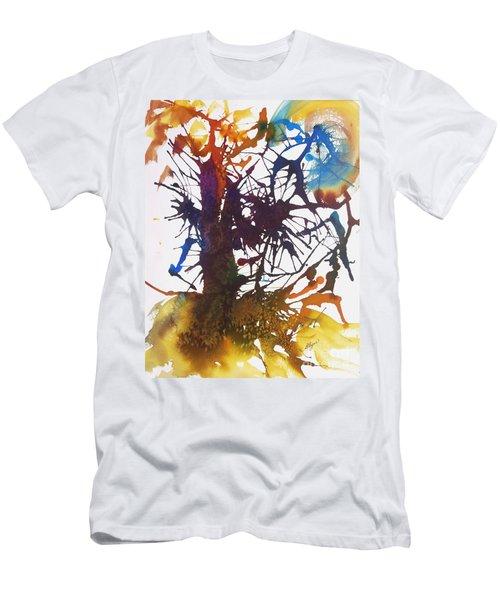 Web Of Life Men's T-Shirt (Slim Fit) by Ellen Levinson
