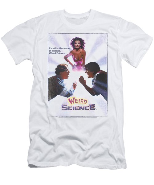Weird Science - Poster Men's T-Shirt (Athletic Fit)