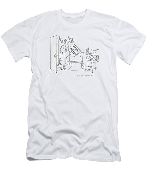 Well, How'd You Make Out? Men's T-Shirt (Athletic Fit)