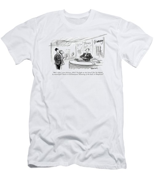 Well, What's Your Pleasure, Folks? Twilight Men's T-Shirt (Athletic Fit)