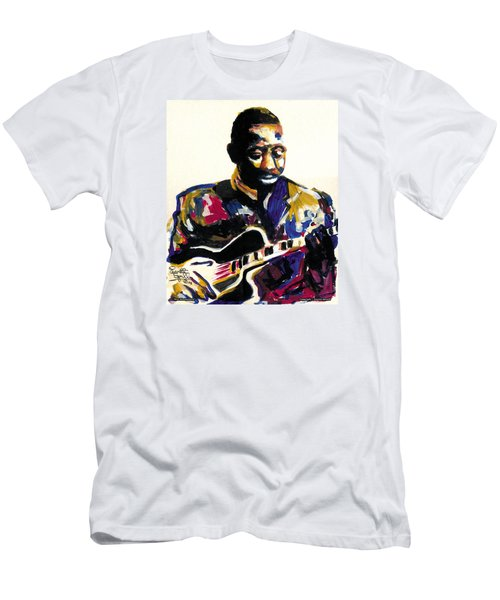 Wes Montgomery Men's T-Shirt (Slim Fit) by Everett Spruill