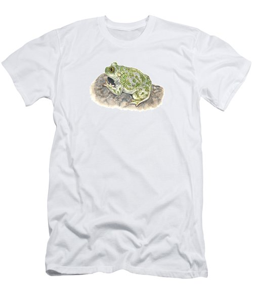 Western Spadefoot Men's T-Shirt (Slim Fit) by Cindy Hitchcock