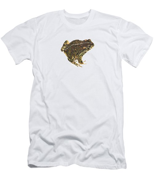 Western Toad Men's T-Shirt (Slim Fit) by Cindy Hitchcock