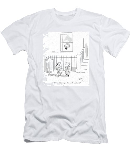 What Did You Get That Wasn't Cardboard? Men's T-Shirt (Athletic Fit)
