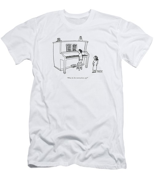 What Do The Instructions Say? Men's T-Shirt (Athletic Fit)