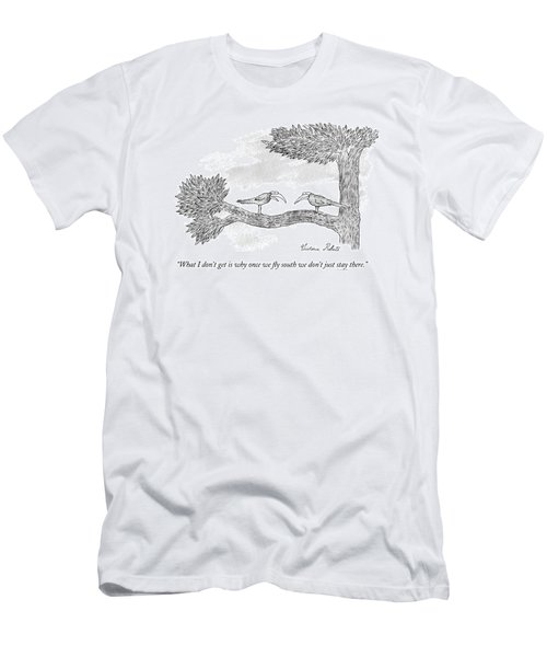 Once We Fly South Men's T-Shirt (Athletic Fit)