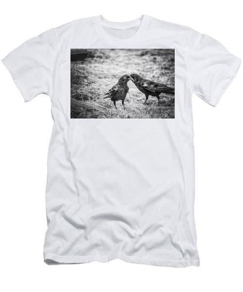 What The Raven Said Men's T-Shirt (Athletic Fit)