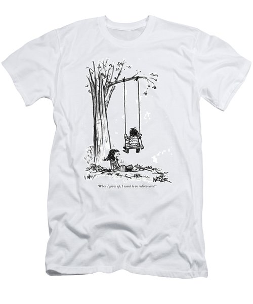 When I Grow Men's T-Shirt (Athletic Fit)