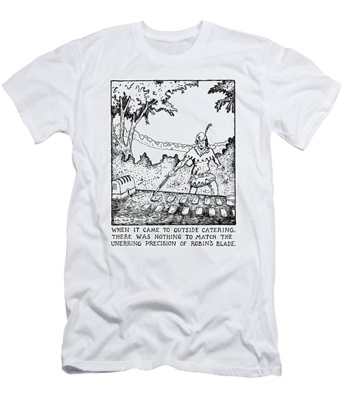 When It Came To Outside Catering Men's T-Shirt (Athletic Fit)