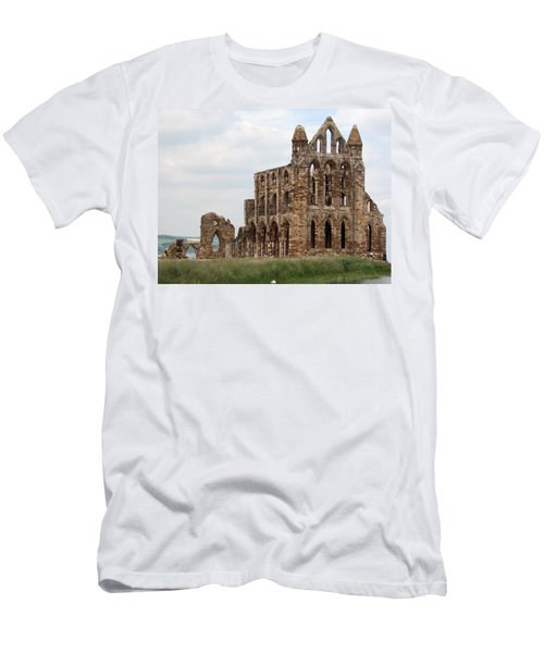 Whitby Abbey Men's T-Shirt (Athletic Fit)