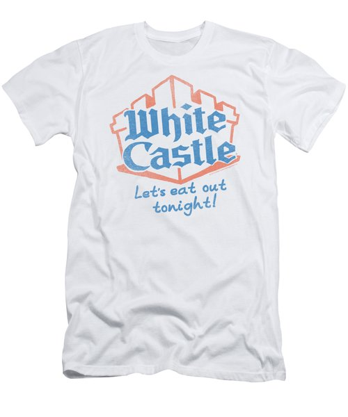 White Castle - Lets Eat Men's T-Shirt (Athletic Fit)