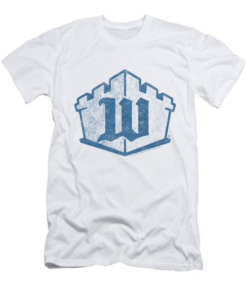 White Castle - Monogram Men's T-Shirt (Athletic Fit)