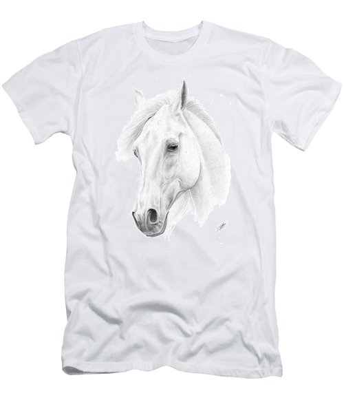 White Horse Men's T-Shirt (Athletic Fit)