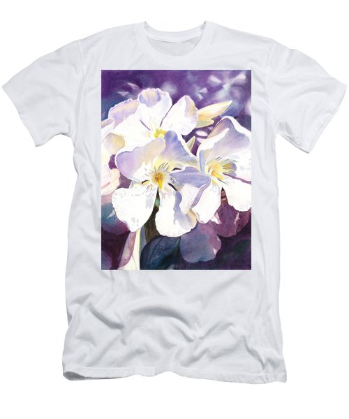 White Oleander Men's T-Shirt (Athletic Fit)
