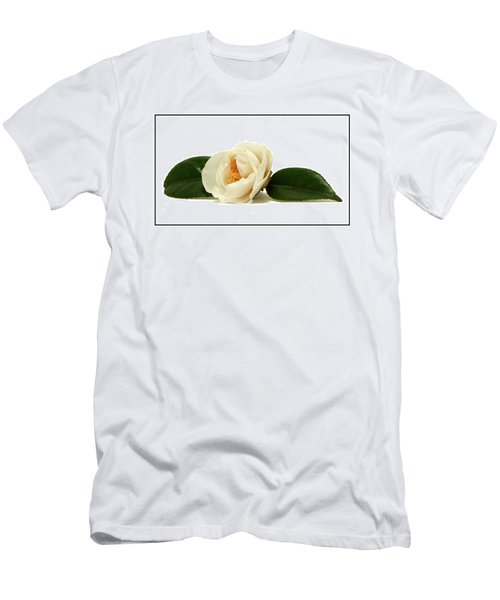 White On White Men's T-Shirt (Athletic Fit)