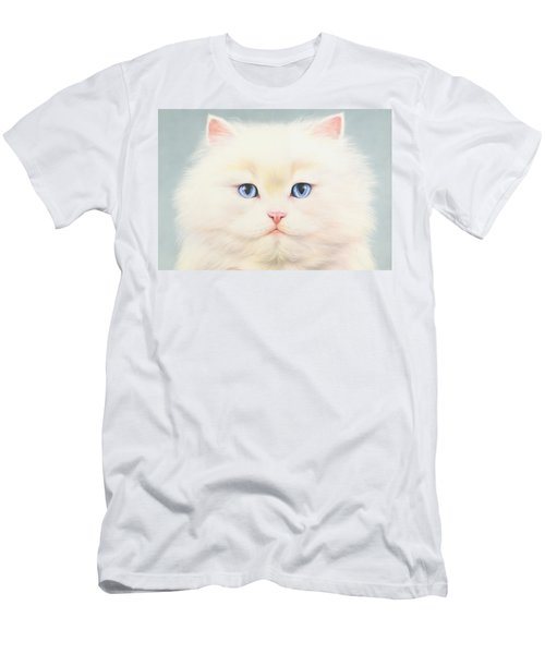 White Persian Men's T-Shirt (Athletic Fit)