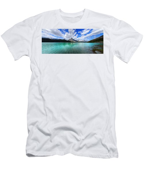 White Pyramid Men's T-Shirt (Athletic Fit)