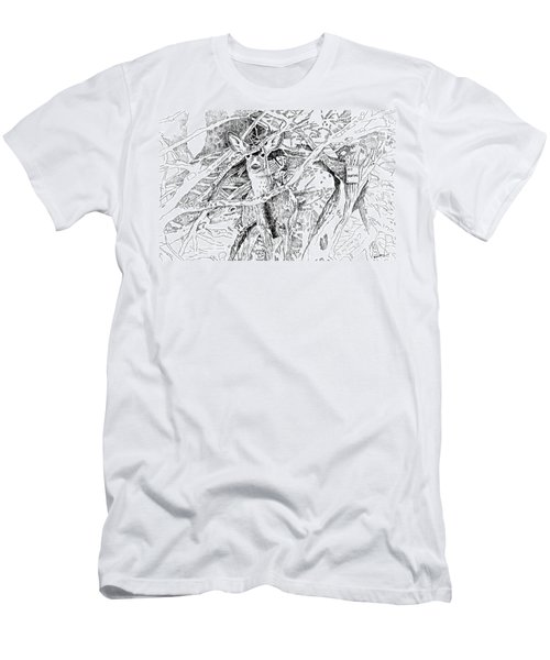 White-tail Encounter Men's T-Shirt (Athletic Fit)