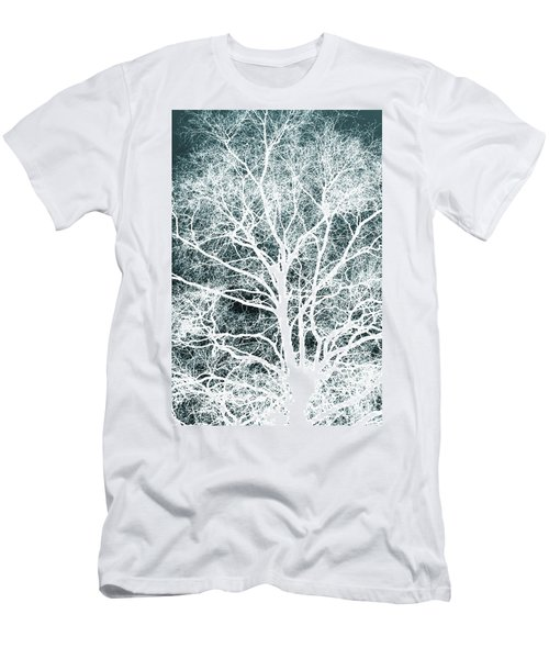 White Tree Men's T-Shirt (Athletic Fit)
