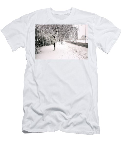 White World Men's T-Shirt (Athletic Fit)