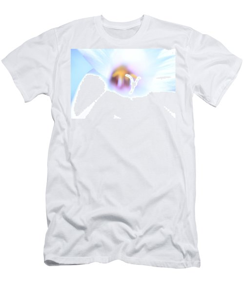Men's T-Shirt (Slim Fit) featuring the photograph Whiteout by Greg Allore
