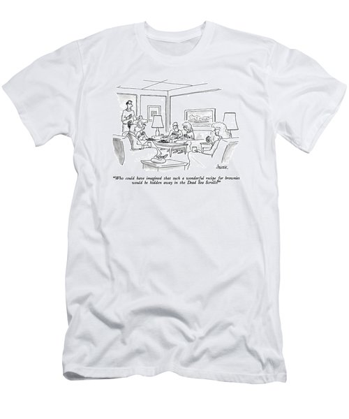 Who Could Have Imagined That Such A Wonderful Men's T-Shirt (Athletic Fit)