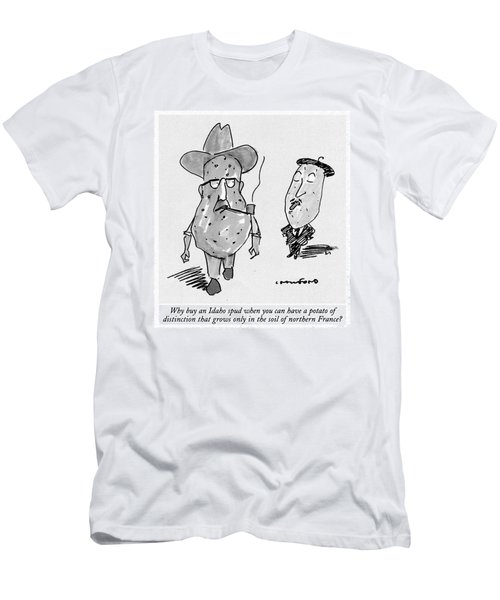 Why Buy An Idaho Spud When You Can Have A Potato Men's T-Shirt (Athletic Fit)