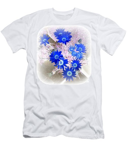 Wild Blue Men's T-Shirt (Athletic Fit)