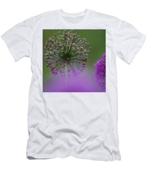 Wild Onion Men's T-Shirt (Slim Fit) by Heiko Koehrer-Wagner