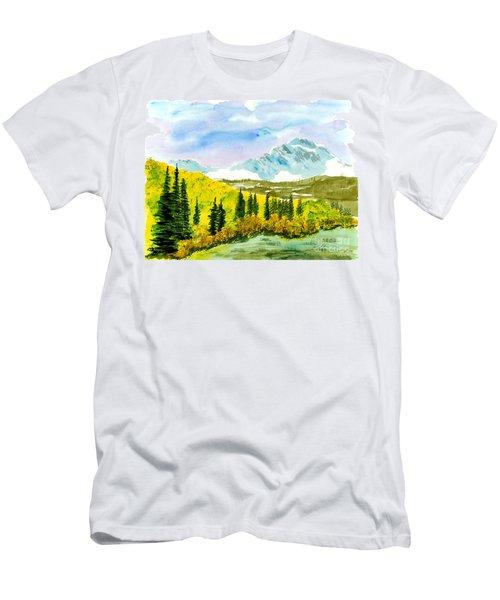 Willard Peak Men's T-Shirt (Athletic Fit)