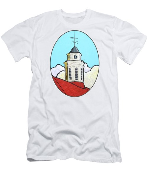 Wilson Hall Cupola - Jmu Men's T-Shirt (Slim Fit) by Jim Harris