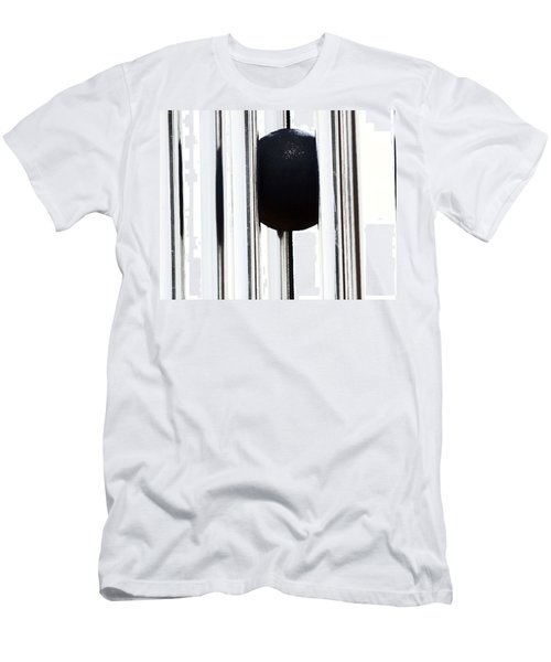 Wind Chime In Black And White Men's T-Shirt (Athletic Fit)