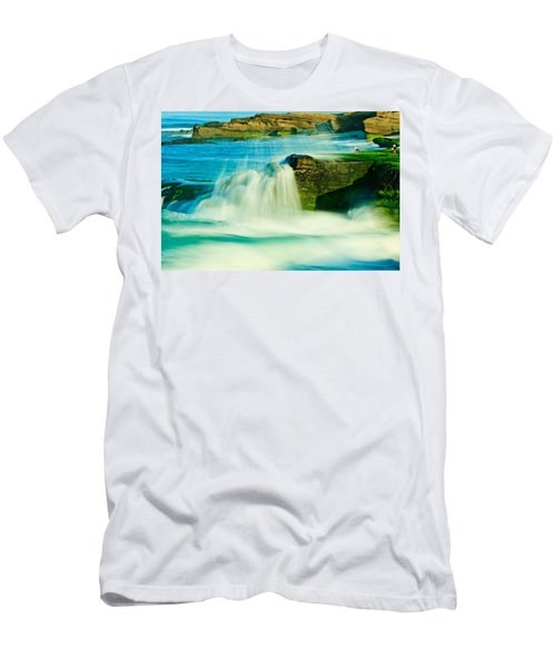 Windansea Beach 2 Men's T-Shirt (Athletic Fit)