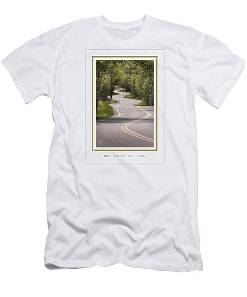 Winding Road Door County Men's T-Shirt (Athletic Fit)