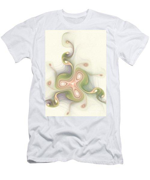 Men's T-Shirt (Slim Fit) featuring the digital art Winding by Svetlana Nikolova