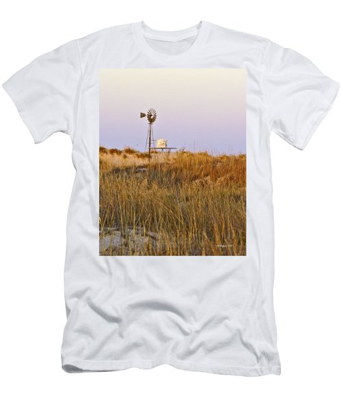 Windmill At Dusk 2011 Men's T-Shirt (Athletic Fit)