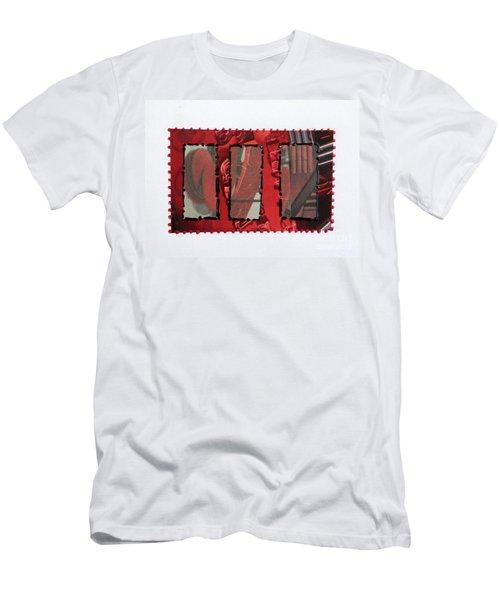Window Panes Men's T-Shirt (Athletic Fit)