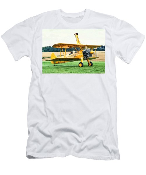 Wingwalking Men's T-Shirt (Athletic Fit)