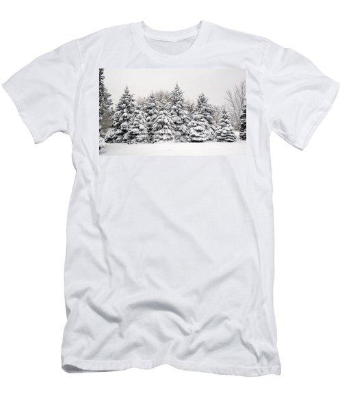 Winter Copse Men's T-Shirt (Athletic Fit)